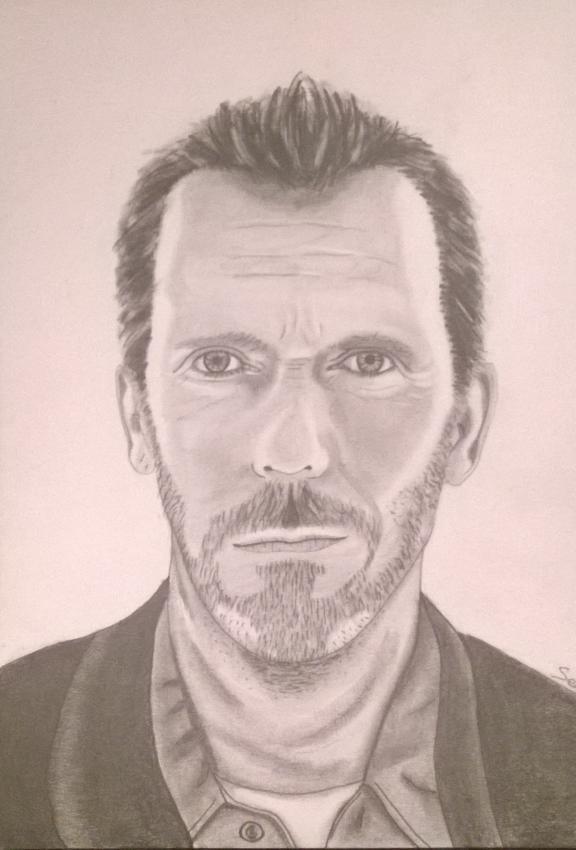 Hugh Laurie by ketaia